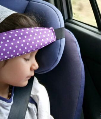 Лента за сън в столче за кола