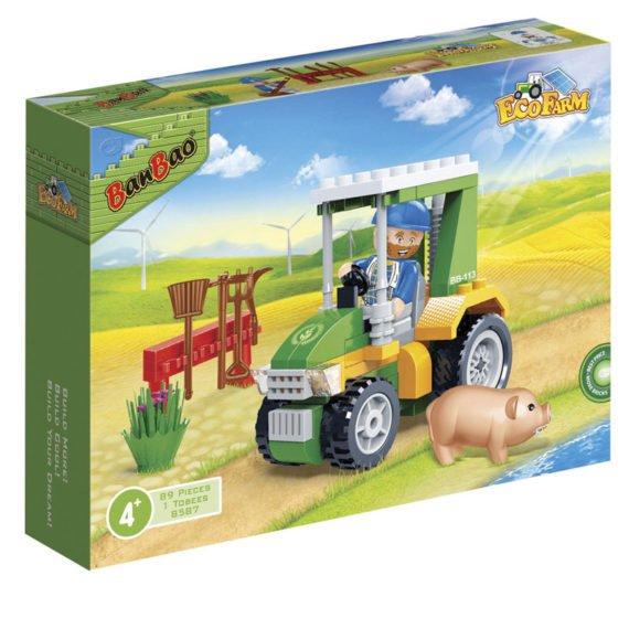 Конструктор ban bao трактор