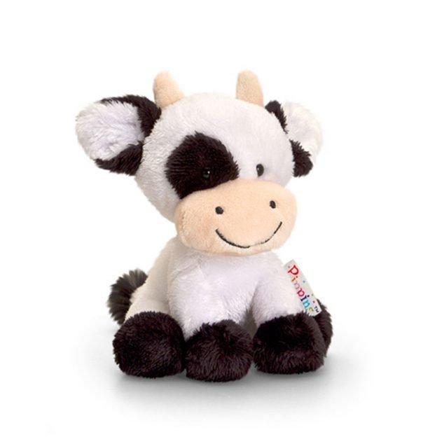 плюшена играчка крава