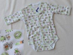 бебешко боди с предно закопчаване