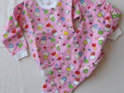 ватирана, цветна, детска пижама