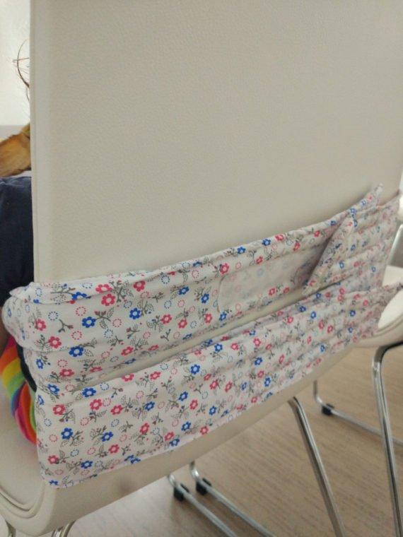 Столче за хранене от плат